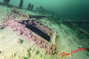 Port Dalhousie Tiller Wreck