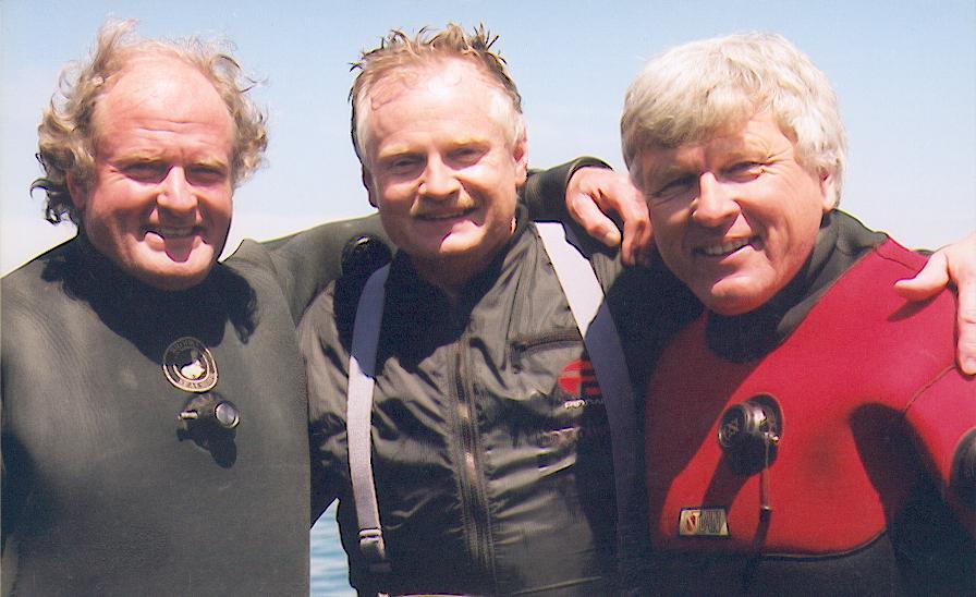 Steve Brooks, John Veber, Ray Stewart