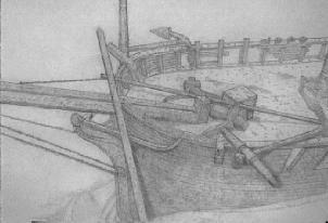 Drawing by Ian Morgan